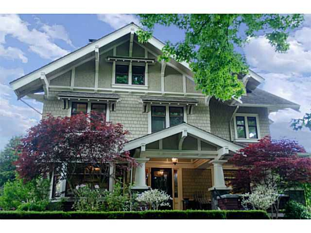Main Photo: 3839 SELKIRK Street in Vancouver: Shaughnessy House for sale (Vancouver West)  : MLS®# V988880