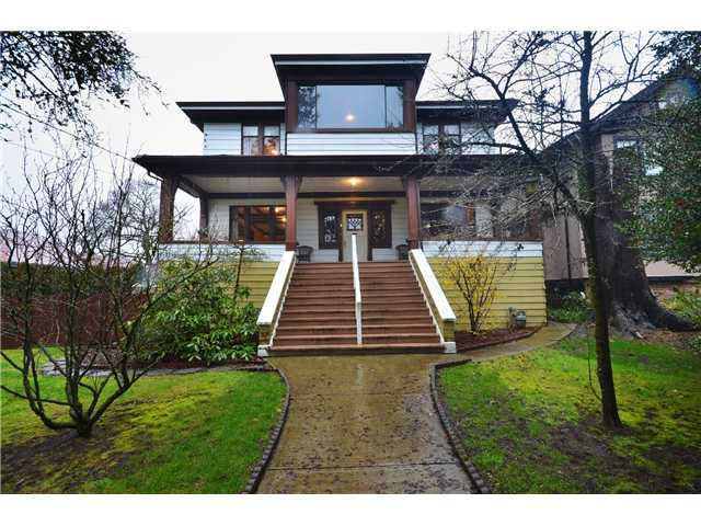 Main Photo: 229 3RD Avenue in New Westminster: Queens Park House for sale : MLS®# V992761