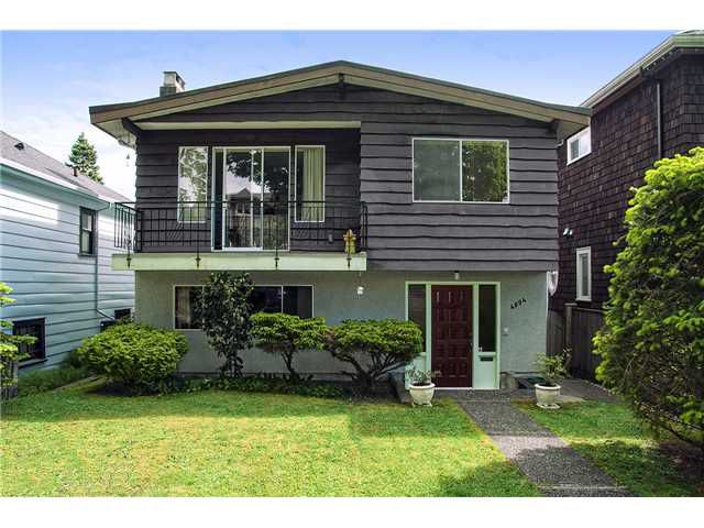 Main Photo: 4094 W 19TH AV in Vancouver: Dunbar House for sale (Vancouver West)  : MLS®# V1065259