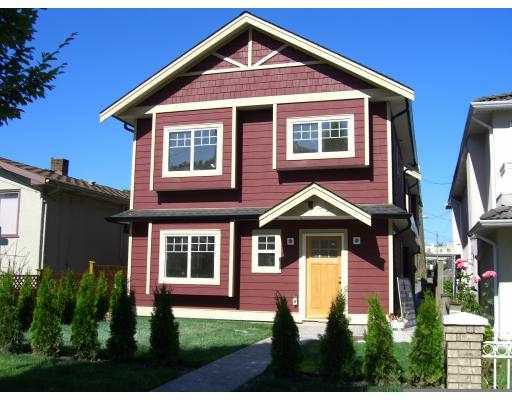 Main Photo: 2953 VICTORIA DR in : Grandview VE House 1/2 Duplex for sale : MLS®# V599583