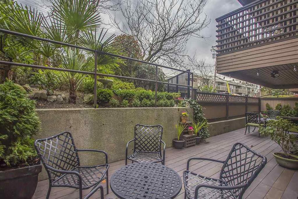 Main Photo: 107 1750 W 10 Avenue in Vancouver: Fairview VW Condo for sale (Vancouver West)  : MLS®# R2040752