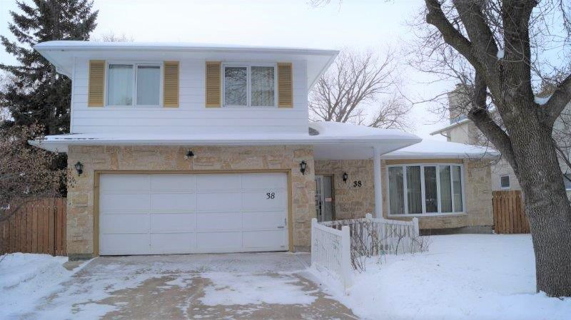 Main Photo: 38 Millikin Road in Winnipeg: Fort Richmond Single Family Detached for sale (1K)  : MLS®# 1901731
