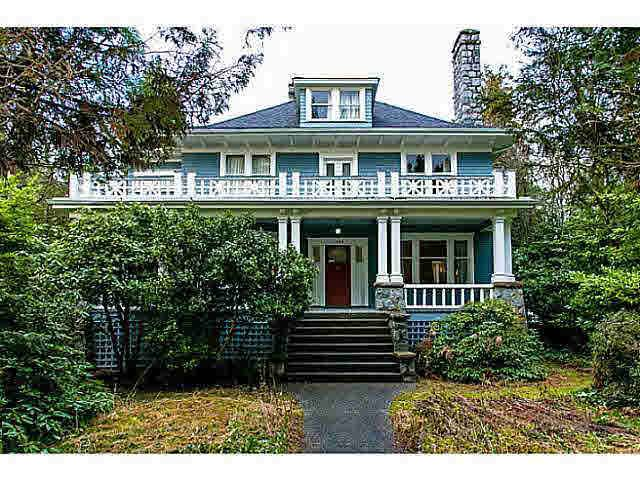 Main Photo: : House  : MLS®# v989024