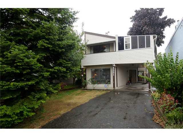 "Main Photo: 3251 HUNT Street in Richmond: Steveston Villlage House for sale in ""STEVESTON VILLAGE"" : MLS®# V986467"