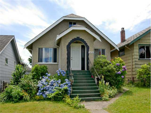Main Photo: 3078 GRANT Street in Vancouver: Renfrew VE House for sale (Vancouver East)  : MLS®# V1019044