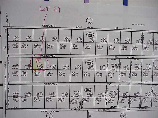 Main Photo: SAN YSIDRO Property for sale: LOT 29 UNNAMED Road in San Diego