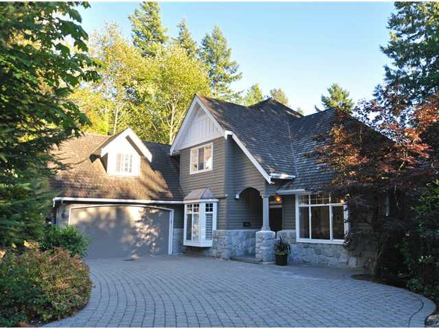 Main Photo: 4650 HEADLAND Drive in West Vancouver: Caulfeild House for sale : MLS®# V972232
