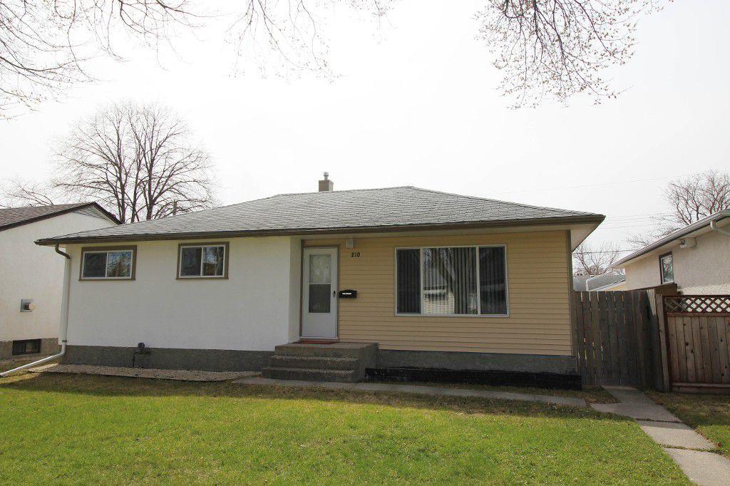 Main Photo: 210 Edward Avenue West - Winnipeg Home For Sale