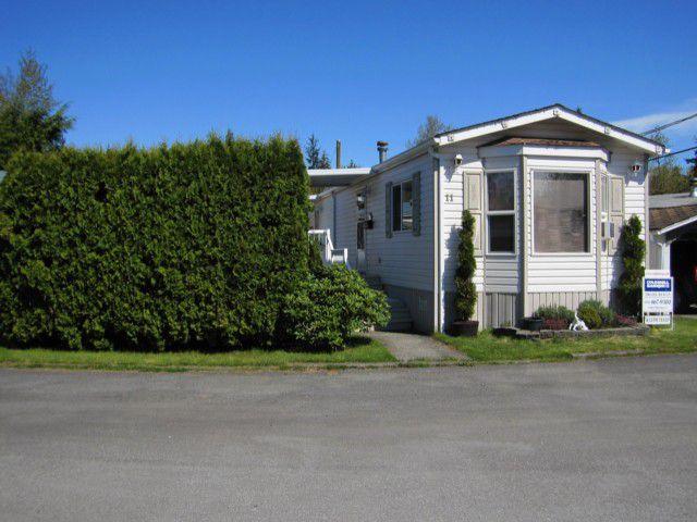 """Main Photo: 11 12868 229TH Street in Maple Ridge: East Central Manufactured Home for sale in """"ALOUETTE MOBILE HOME PARK"""" : MLS®# V1002591"""