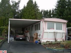 Main Photo: 224 1840 160 STREET in Surrey: King George Corridor Manufactured Home for sale (South Surrey White Rock)  : MLS®# R2061291