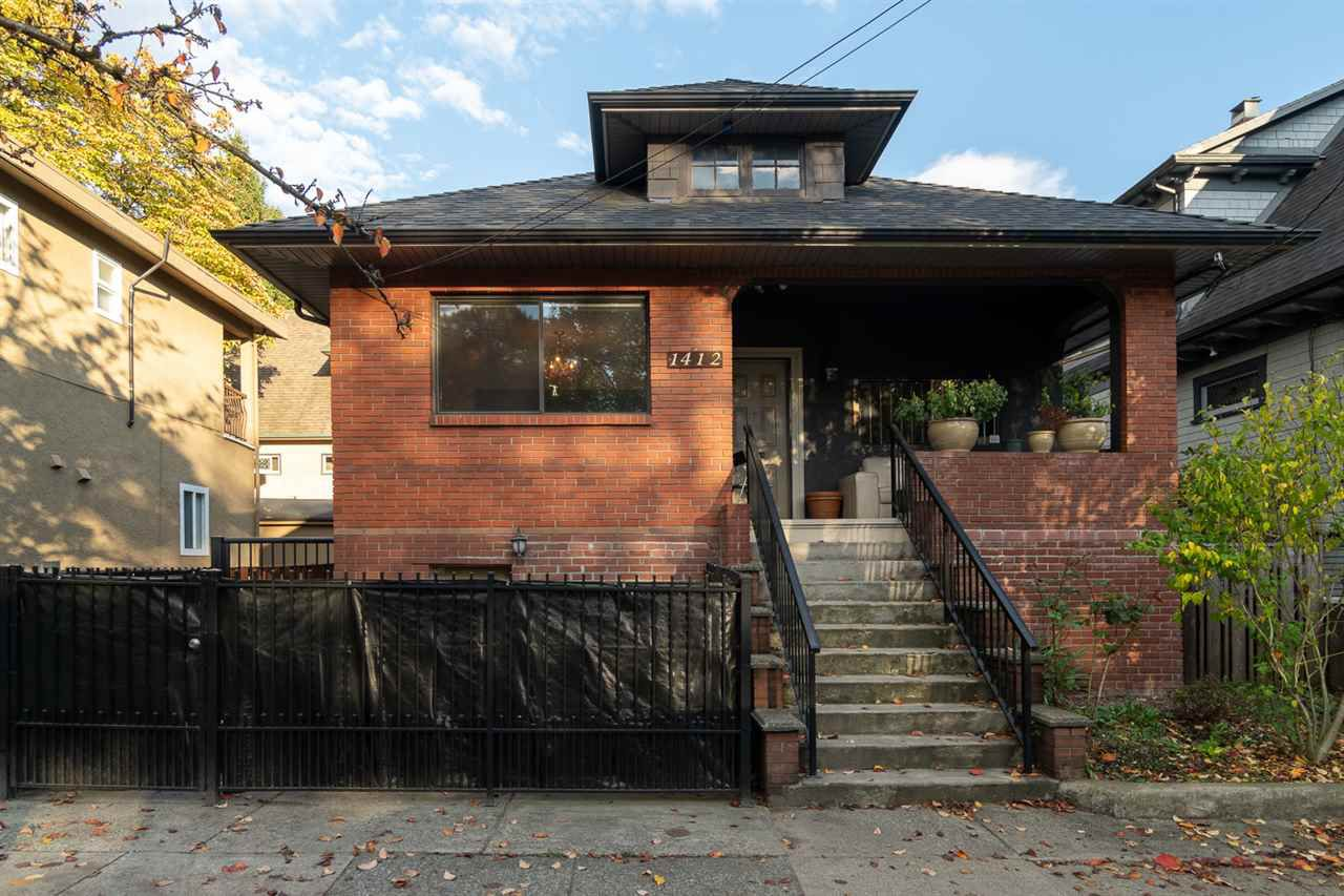 Main Photo: 1412 VICTORIA DRIVE in Vancouver: Grandview VE House for sale (Vancouver East)  : MLS®# R2340243
