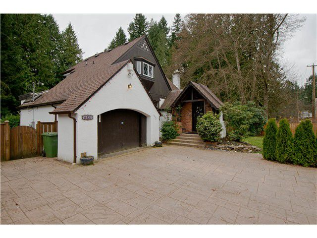 Main Photo: 1395 RIDGEWOOD DR in North Vancouver: Capilano NV House for sale : MLS®# V1010145