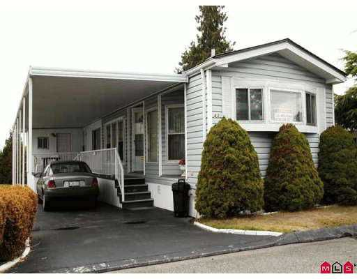 "Main Photo: 43 7850 KING GEORGE HY in Surrey: East Newton Manufactured Home for sale in ""Bear Creek Glen"" : MLS®# F2619934"