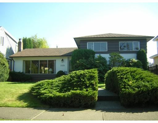 Main Photo: 2428 MCBAIN AV in Vancouver: QU Quilchena House for sale (VW Vancouver West)  : MLS®# V613950