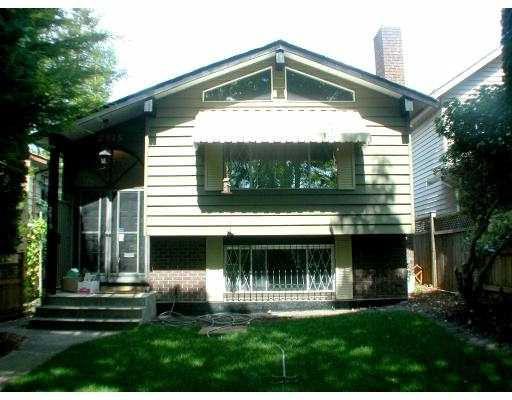 Main Photo: 2915 W 43RD AV in : Kerrisdale House for sale : MLS®# V552055