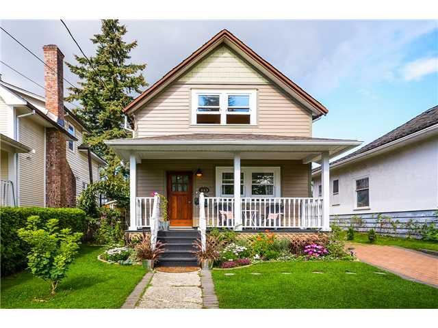 Main Photo: 213 5TH AV in New Westminster: Queens Park House for sale : MLS®# V1027883