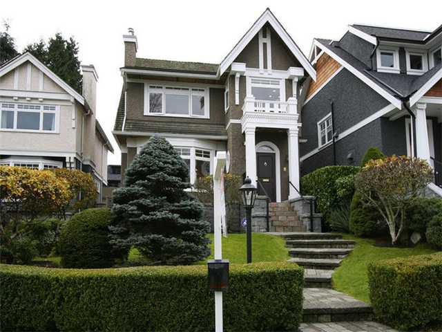 Main Photo: 3016 W 24TH AV in Vancouver: Dunbar House for sale (Vancouver West)  : MLS®# V1034702