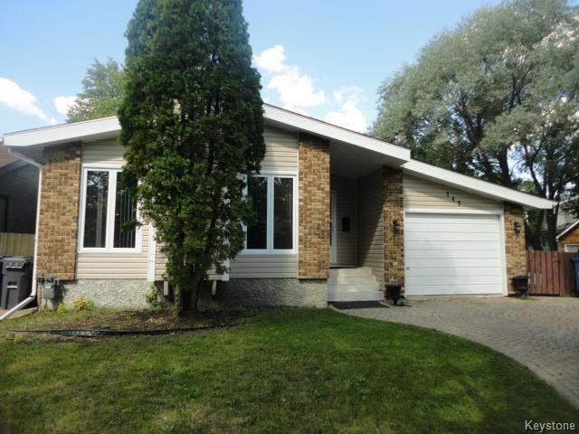 Main Photo: 143 Nutley Circle in WINNIPEG: St Vital Residential for sale (South East Winnipeg)  : MLS®# 1419708
