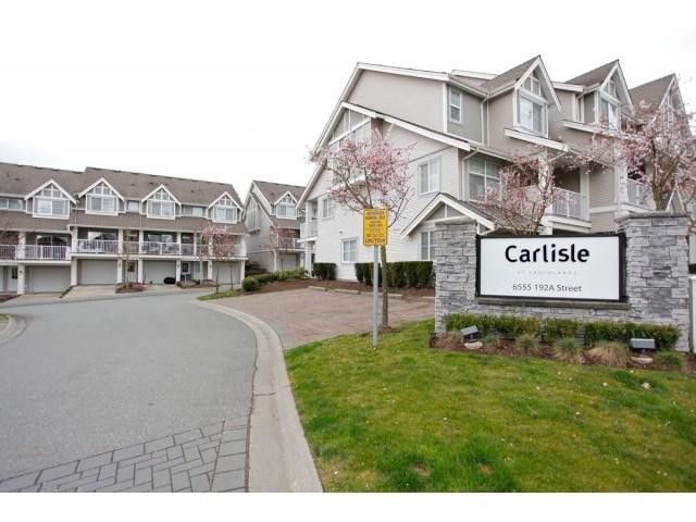 Main Photo: 11 6555 192A Street in : Clayton Condo for sale (Cloverdale)  : MLS®# F1434935