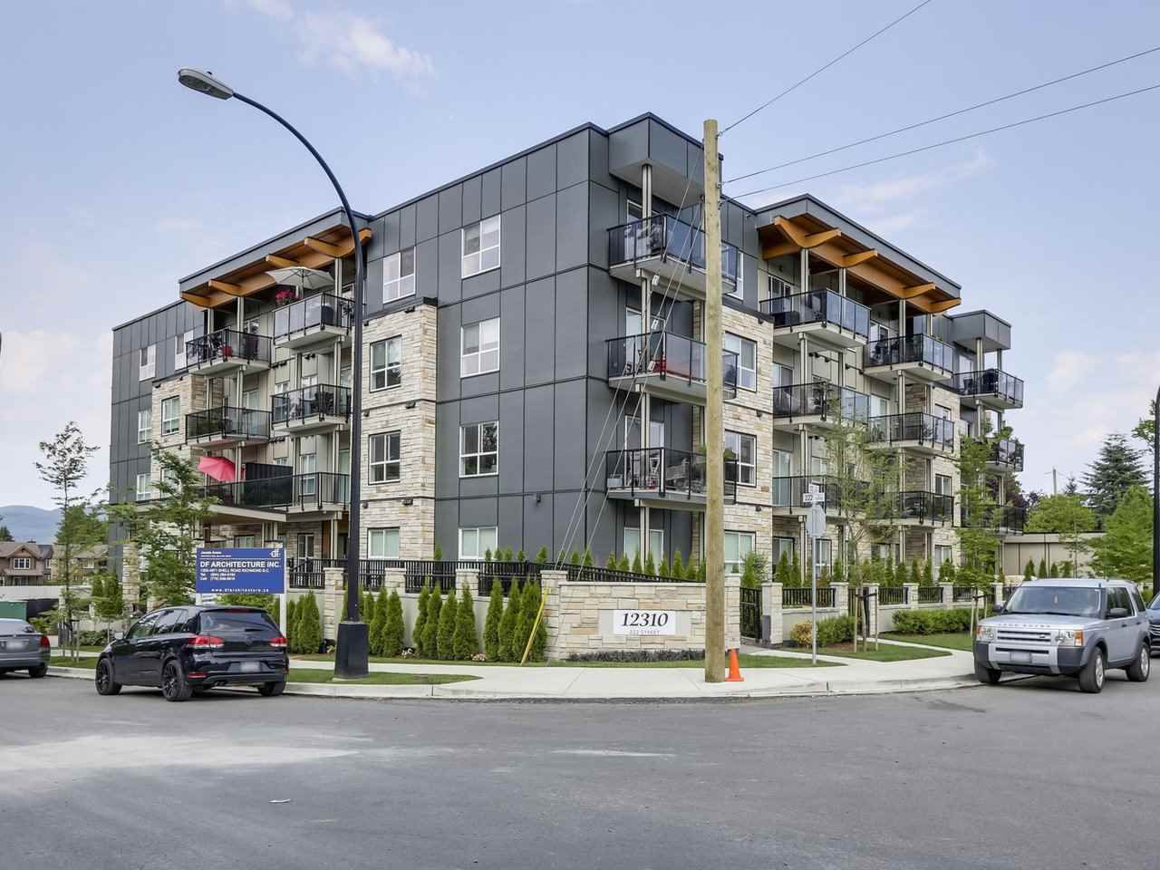 Main Photo: 409 12310 222 STREET in : West Central Condo for sale : MLS®# R2277149
