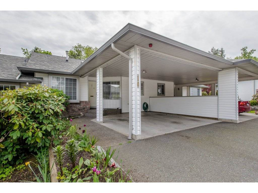 Main Photo: 10 3351 HORN STREET in : Central Abbotsford Townhouse for sale : MLS®# R2164029