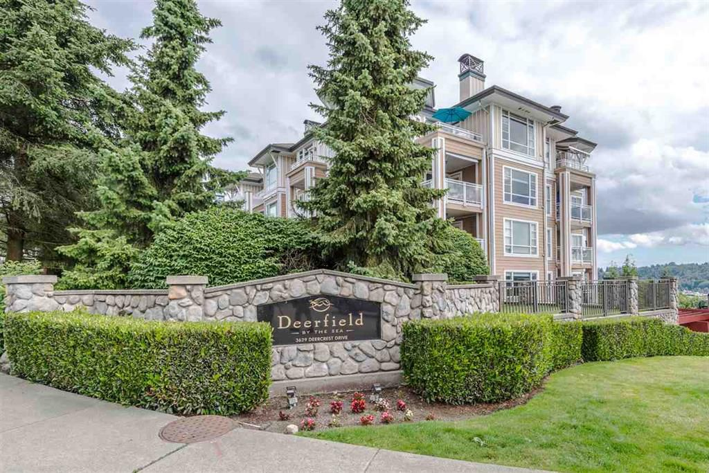 Main Photo: 202 3629 DEERCREST DRIVE in North Vancouver: Roche Point Condo for sale : MLS®# R2312798