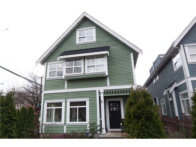 Main Photo: 1795 Victoria Drive in Vancouver: Grandview VE House Duplex for sale (Vancouver East)  : MLS®# V878810