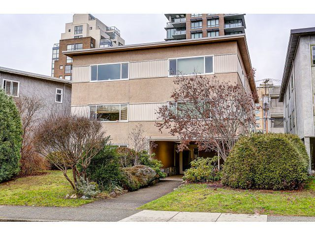 Main Photo: 5 1235 W 10TH AVENUE in Vancouver: Fairview VW Condo for sale (Vancouver West)  : MLS®# R2025255