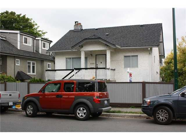 Main Photo: 2285 BAYSWATER ST in : Kitsilano House for sale : MLS®# V912441