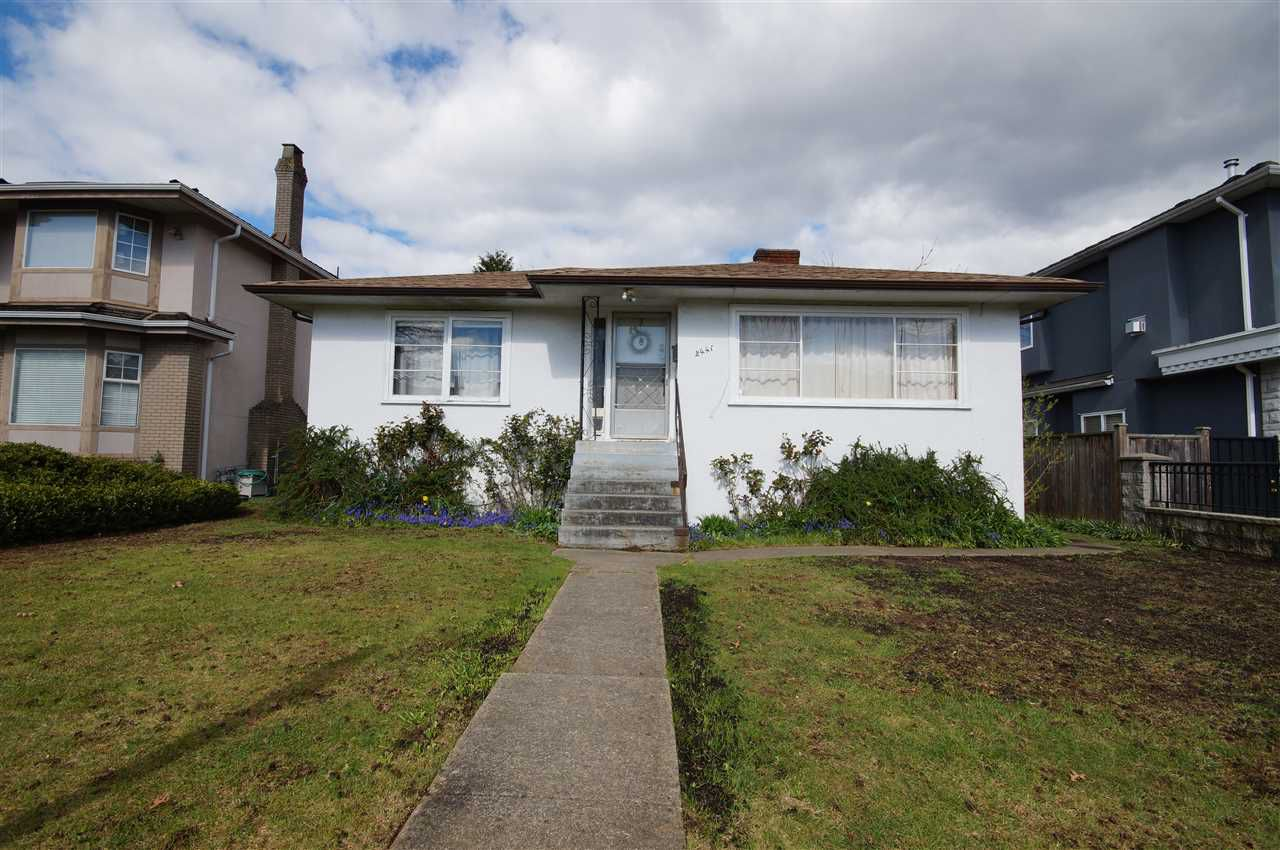 Main Photo: 2441 E 40TH AVENUE in Vancouver: Collingwood VE House for sale (Vancouver East)  : MLS®# R2051236