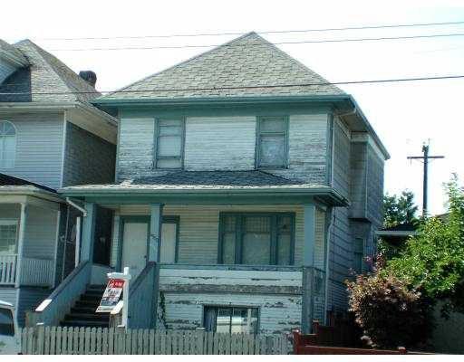Main Photo: 4553 FRASER ST in : Fraser VE House for sale : MLS®# V552633