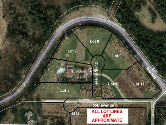 Main Photo: # LT.7 23712 56TH AV in Langley: Salmon River Home for sale : MLS®# F1407717