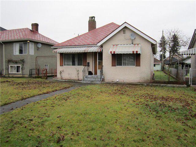 Main Photo: 3185 TURNER ST in Vancouver: Renfrew VE House for sale (Vancouver East)  : MLS®# V1098838