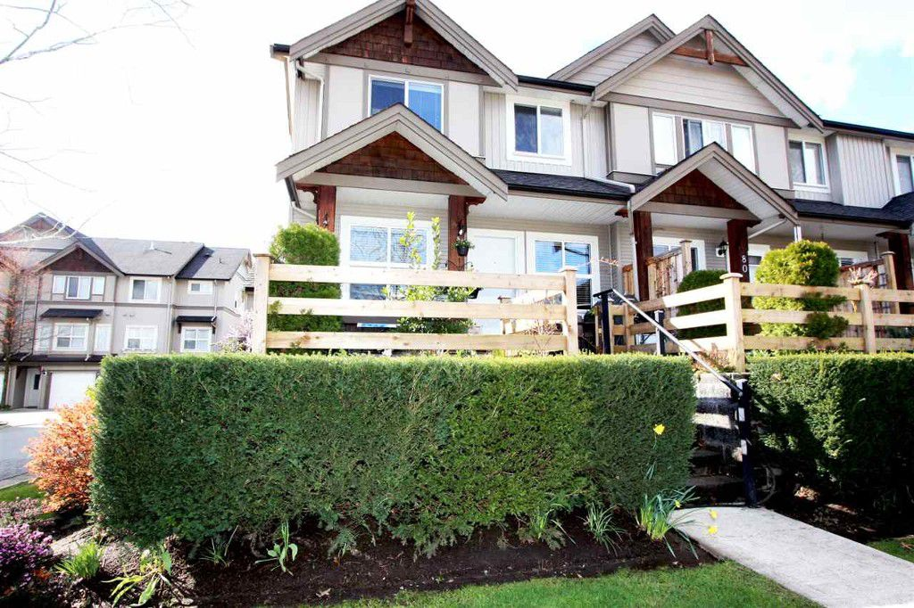 Main Photo: 79 1055 Riverwood Gate in Port Coquitlam: Riverwood Townhouse for sale : MLS®# r2046799