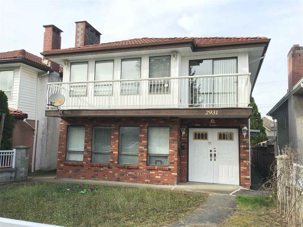Main Photo: 2931 E 42 Avenue in Vancouver: Killarney VE House for sale (Vancouver East)  : MLS®# R2050976