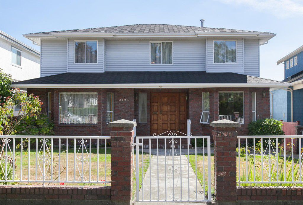 Main Photo: 2194 Scarboro Avenue in Vancouver: Fraserview House for sale (Vancouver East)  : MLS®# V1140308