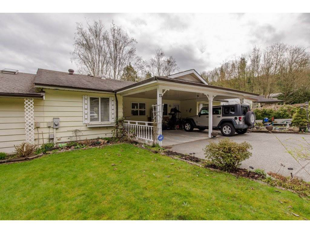 Main Photo: 13 3350 ELMWOOD DRIVE in : Central Abbotsford Townhouse for sale : MLS®# R2255672