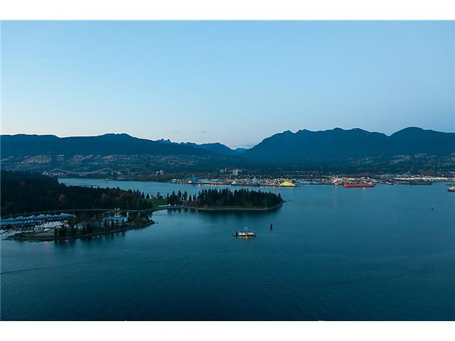 """Main Photo: 3803 1077 W CORDOVA Street in Vancouver: Coal Harbour Condo for sale in """"SHAW TOWER -  COAL HARBOUR"""" (Vancouver West)  : MLS®# V1006517"""