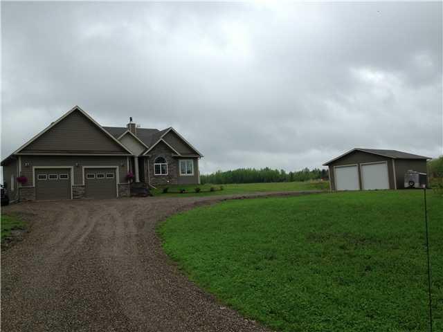 "Main Photo: 13464 279 Road in Charlie Lake: Lakeshore House for sale in ""TEA CREEK ESTATES"" (Fort St. John (Zone 60))  : MLS®# N228023"