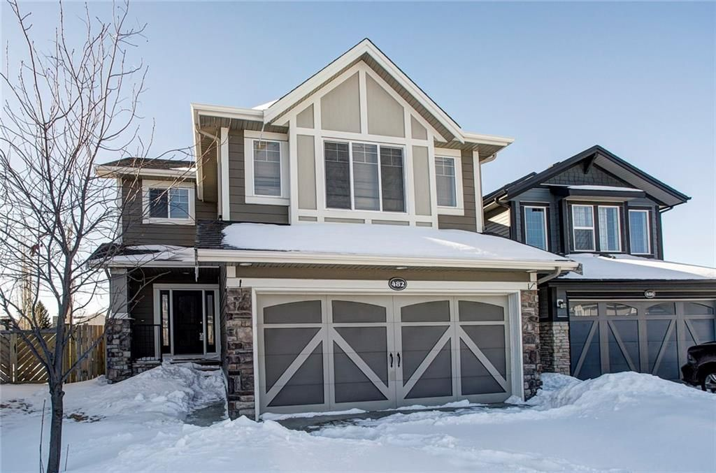 Main Photo: 482 WILLIAMSTOWN GR NW: Airdrie House for sale : MLS®# C4172296