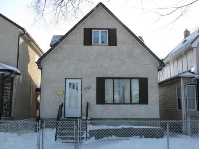 Main Photo: 631 Lipton Street in WINNIPEG: West End / Wolseley Residential for sale (West Winnipeg)  : MLS®# 1203988