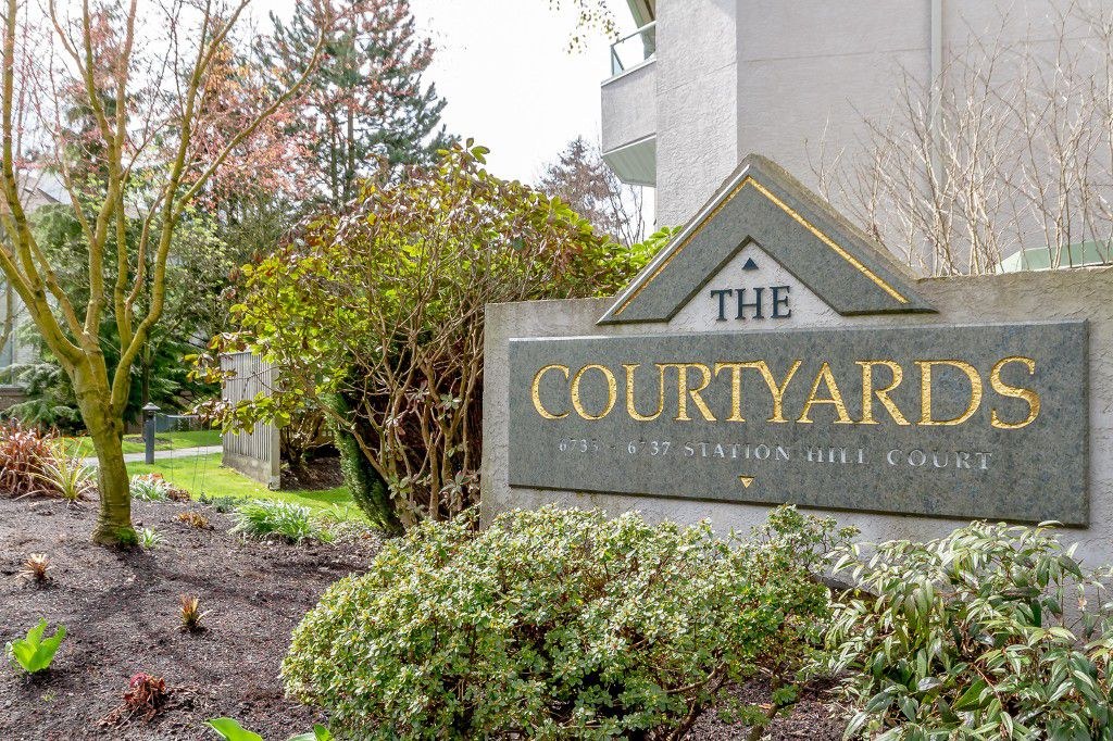 Main Photo: # 414 6735 STATION HILL CT in Burnaby: South Slope Condo for sale (Burnaby South)  : MLS®# V1056659