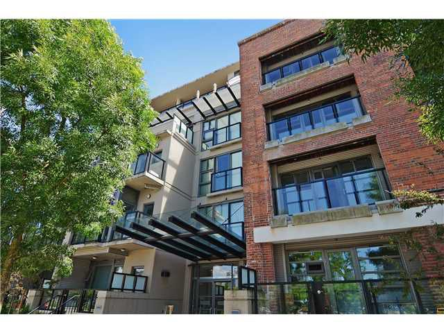 Main Photo: # 406 388 W 1ST AV in Vancouver: False Creek Condo for sale (Vancouver West)  : MLS®# V1069546