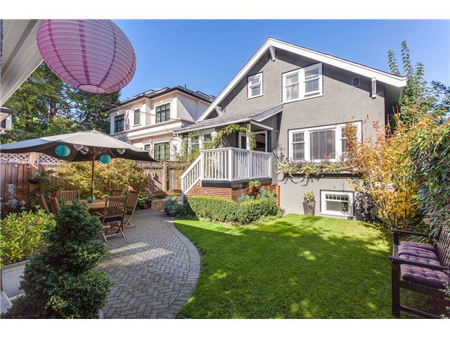 Main Photo: 4464 W 9th Av in Vancouver West: Point Grey House for sale : MLS®# V1087976