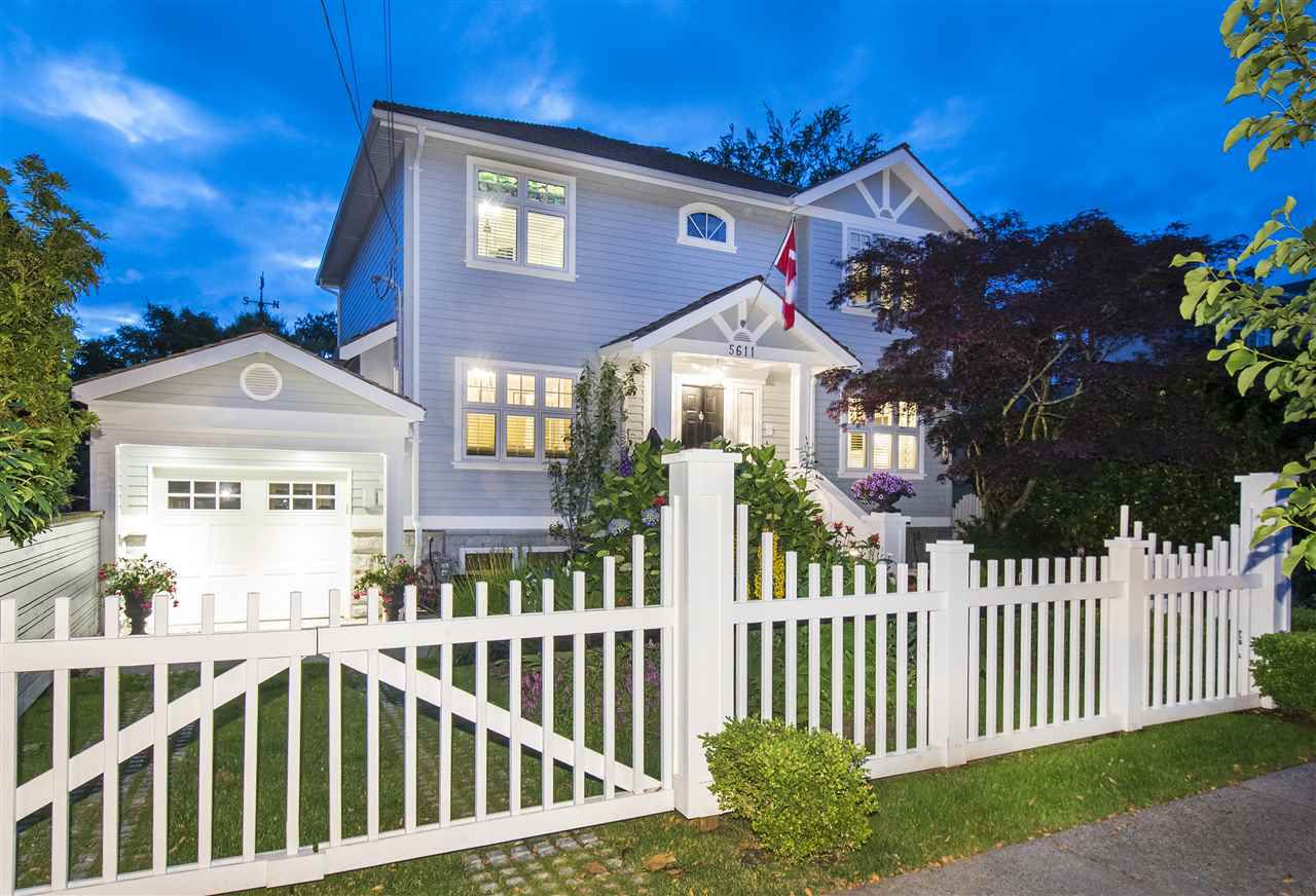 Main Photo: 5611 TRAFALGAR STREET in Vancouver: Kerrisdale House for sale (Vancouver West)  : MLS®# R2284217