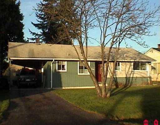 "Main Photo: 11421 95TH AV in Delta: Annieville House for sale in ""Annieville"" (N. Delta)  : MLS®# F2526578"