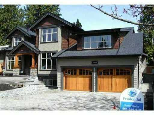 "Main Photo: 2910 WOODBINE DR in North Vancouver: Capilano Highlands House for sale in ""CAPILANO HIGHLANDS"" : MLS®# V990672"