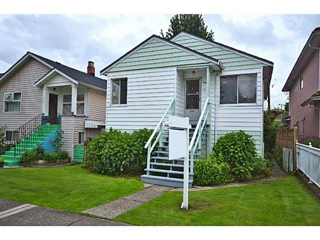 "Main Photo: 2526 VENABLES Street in Vancouver: Renfrew VE House for sale in ""Renfrew/East Village"" (Vancouver East)  : MLS®# V1014686"