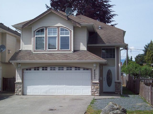 Main Photo: # B 46053 THIRD AV in Chilliwack: Chilliwack E Young-Yale House for sale : MLS®# H1402514