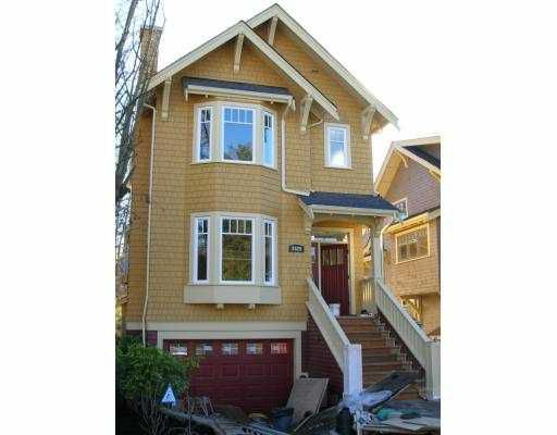 Main Photo: 3528 W 5TH AV in Vancouver: Point Grey House 1/2 Duplex for sale (Vancouver West)  : MLS®# V574486
